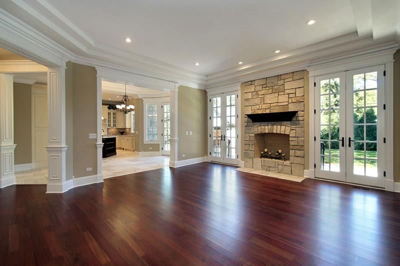 25 Stunning Living Rooms With Hardwood Floors Page 2 Of 5 With Images House New Homes Living Room Hardwood Floors