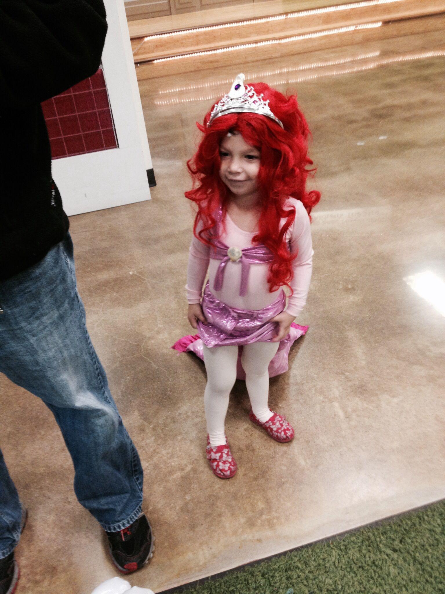 My pink Ariel, aka Stella