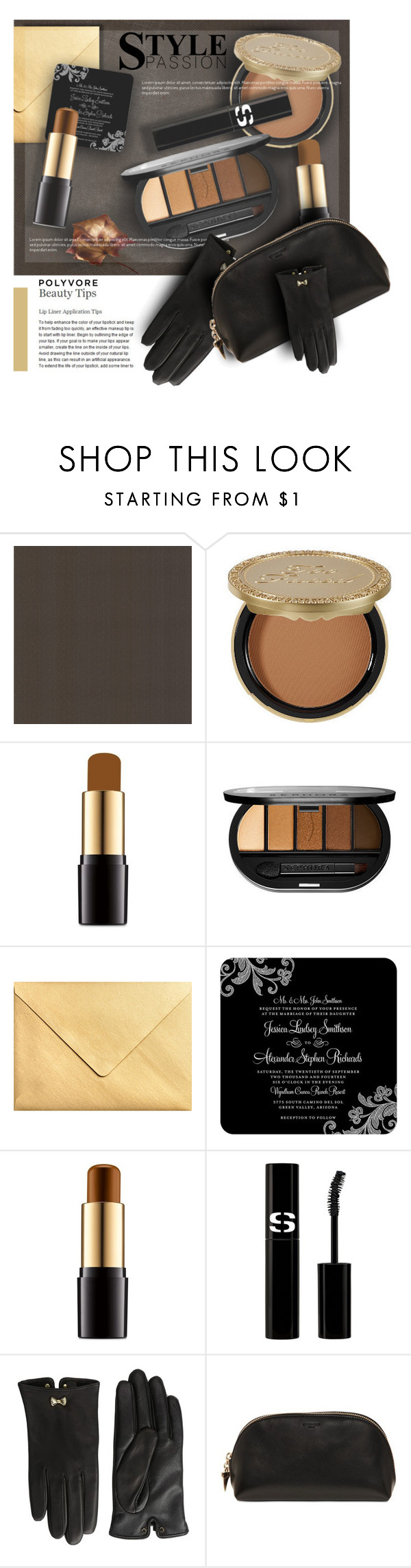 """Makeup Bag Staples"" by monazor ❤ liked on Polyvore featuring beauty, Brewster Home Fashions, Too Faced Cosmetics, Lancôme, Sephora Collection, Sisley Paris, Ted Baker, Givenchy, contestentry and beautyset"