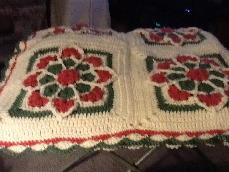 My finished afghan from pattern here on Pinterest. Thank you for ...