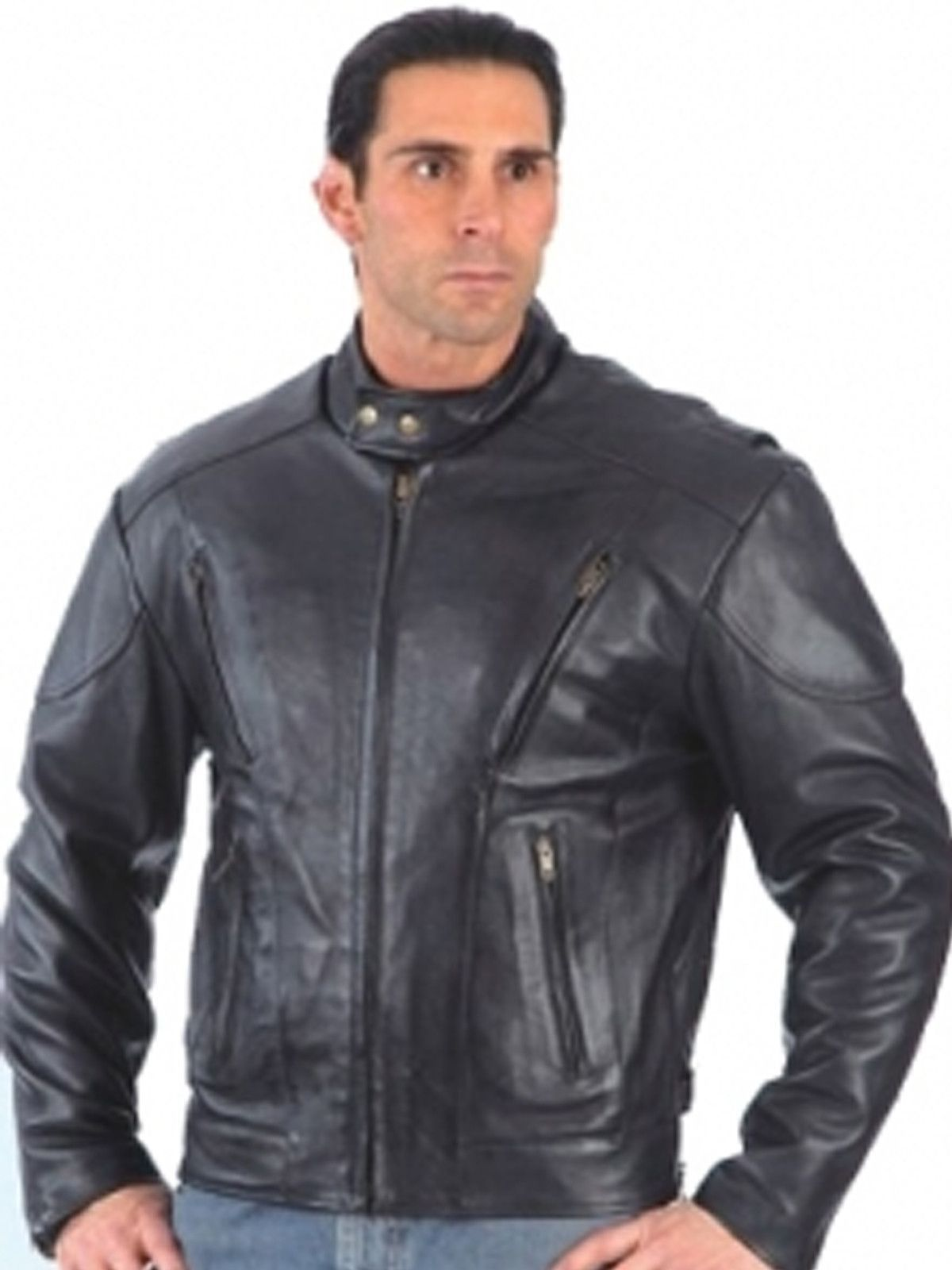 Unik Men S Big Tall Black Leather Motorcycle Jacket With Kidney Protection Black Leather Motorcycle Jacket Leather Motorcycle Jacket Mens Black Leather [ 1600 x 1200 Pixel ]