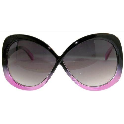 289cd165f9dd Infinity Shaped Sunglasses! In Black with Pink Finish GirlPROPS.  6.00