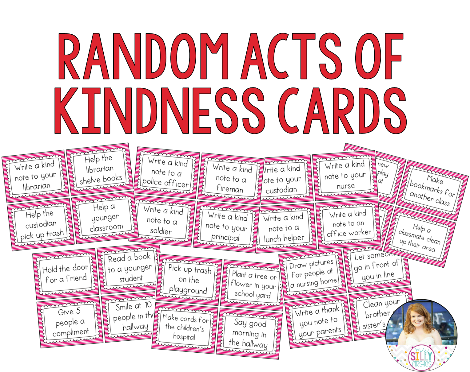 Random Acts Of Kindness Promoting Kindness In The Primary Classroom
