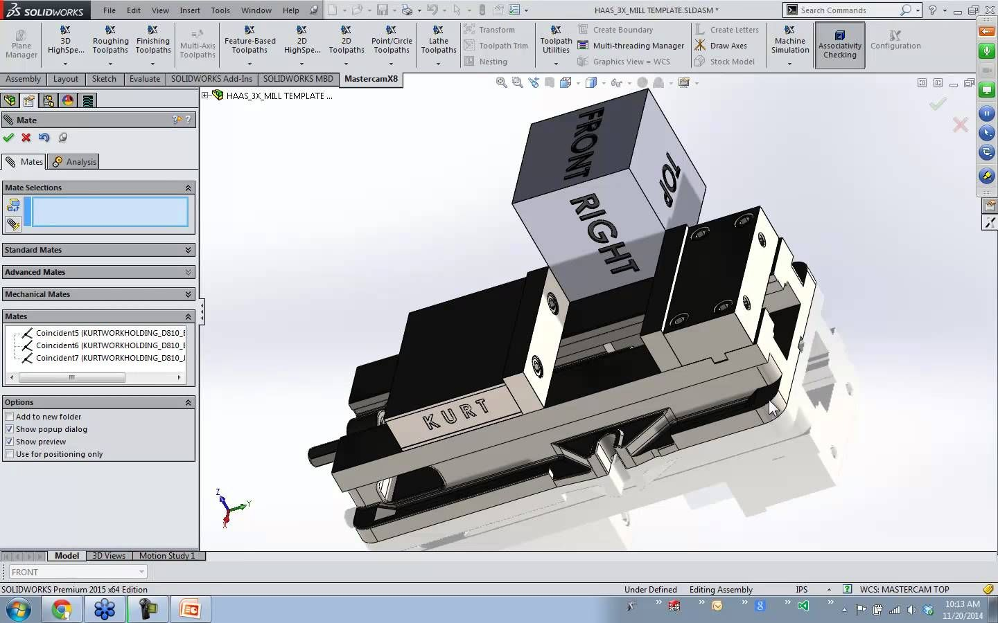 Optimizing Mastercam for SolidWorks X8 | HARLYLICHUZZ !! CAD