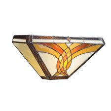 Sonora Tiffany 2 Light Wall Sconce