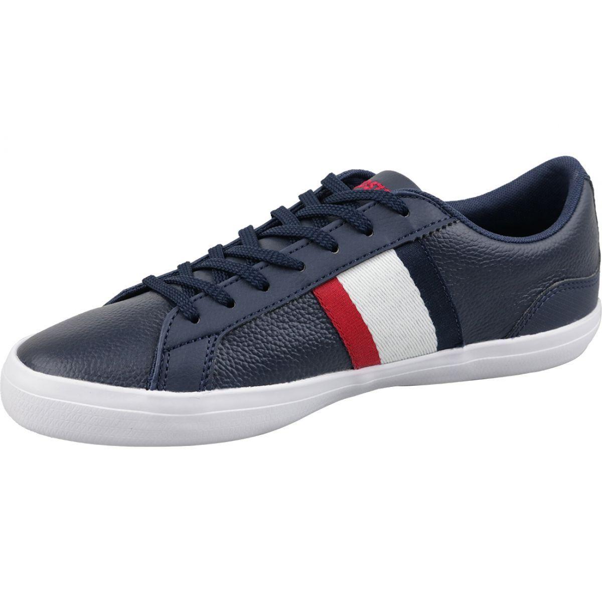 Buty Lacoste Lerond 119 M 737cma00457a2 Biale Czerwone Granatowe Lacoste Fashion Shoes