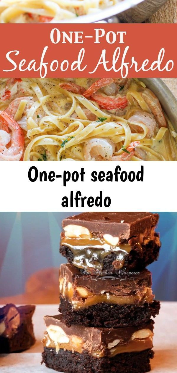 One-pot seafood alfredo one pot seafood alfredo- Succulent sauteed shrimp and sweet lump crab meat