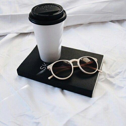 #Coffee #book #sunglasses