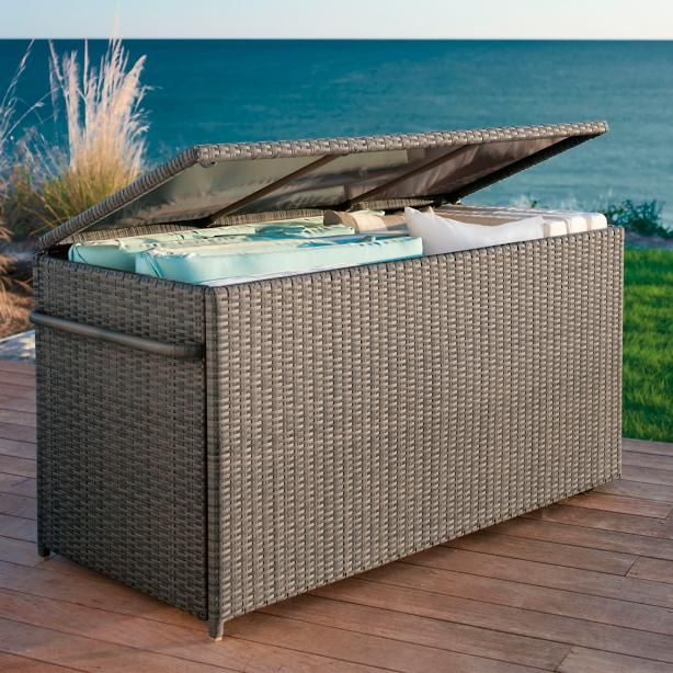 Outdoor Cushion Storage Box Outdoor Furniture Cushions Outdoor