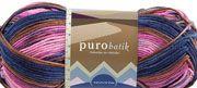 Novita Puro Batik lanka,sävyinä ruska,musta/lila (tai sinne päin) ja vaal.pun. Kaikkia näitä värejä useita keriä,jos löydät edullisesti.Anttilassa tarjouksessa 2,50€/kerä