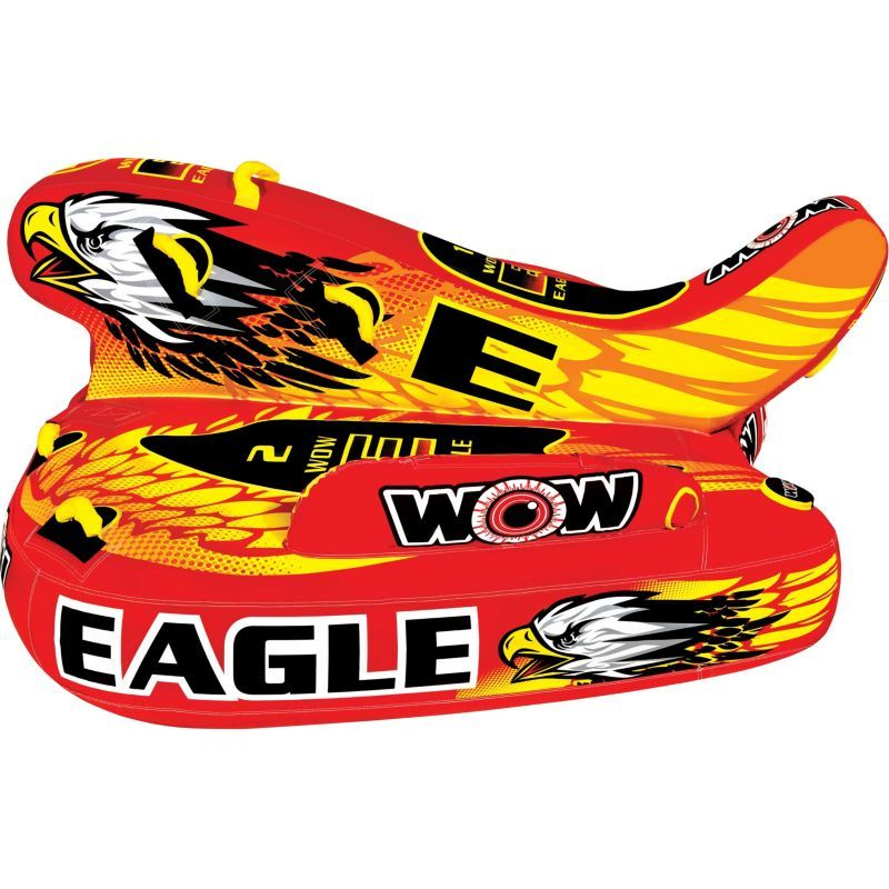 WOW Water Sports Eagle Hybrid 3 Person Towable Tube