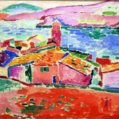 Henri matisse view of collioure 1905 art pinterest for Henri matisse fenetre ouverte