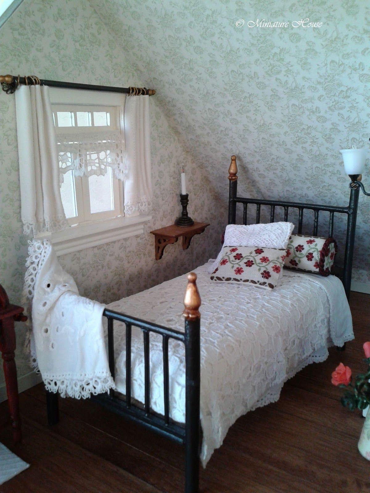 Miniature bedroom
