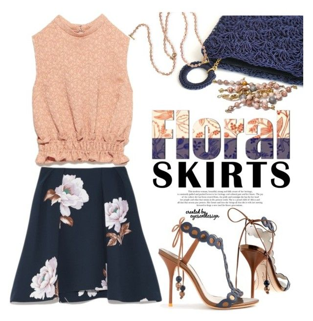 A Perfect Summer Floral Skirt by eyesondesign on Polyvore featuring polyvore fashion style J.Crew clothing Floralskirts eyesondesignfashion floralskirtsa