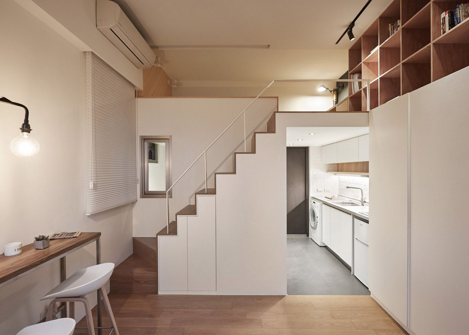 A Little Design creates 22m2 apartment in Taiwan   Flats, Studio and ...