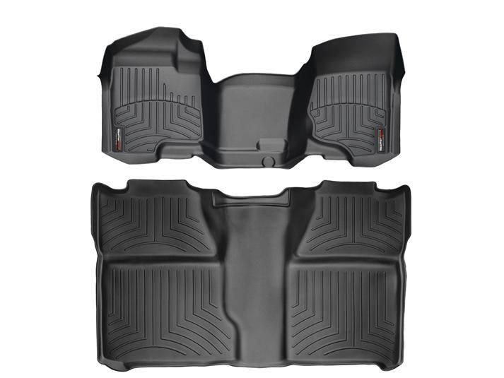 2011 Gmc Sierra Sierra Denali Weathertech Floorliner Custom Fit Car Floor Protection From Mud Water Sand Weather Tech Floor Mats Gmc Accessories Fit Car