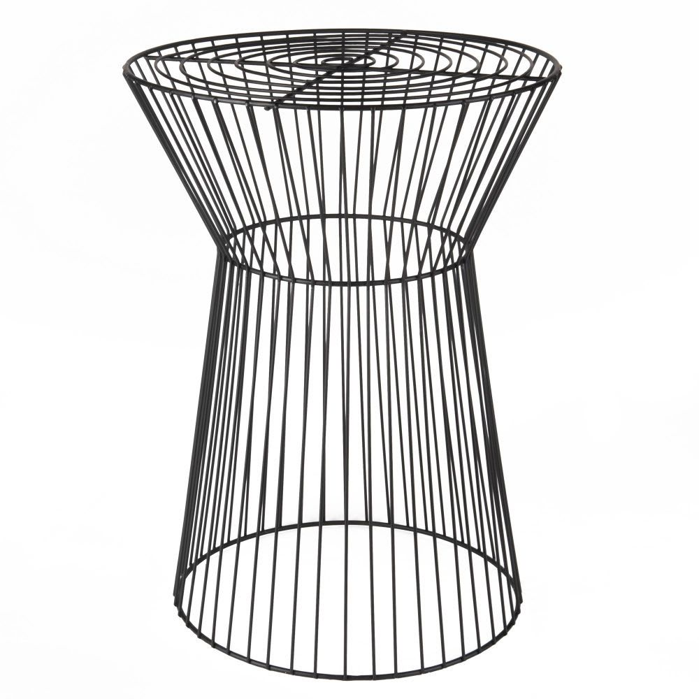 Occasional Furniture Wire Side Table Wire Table Black Side Table