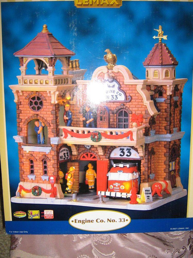 Lemax Village Collection, Fire Engine Co.33, Building