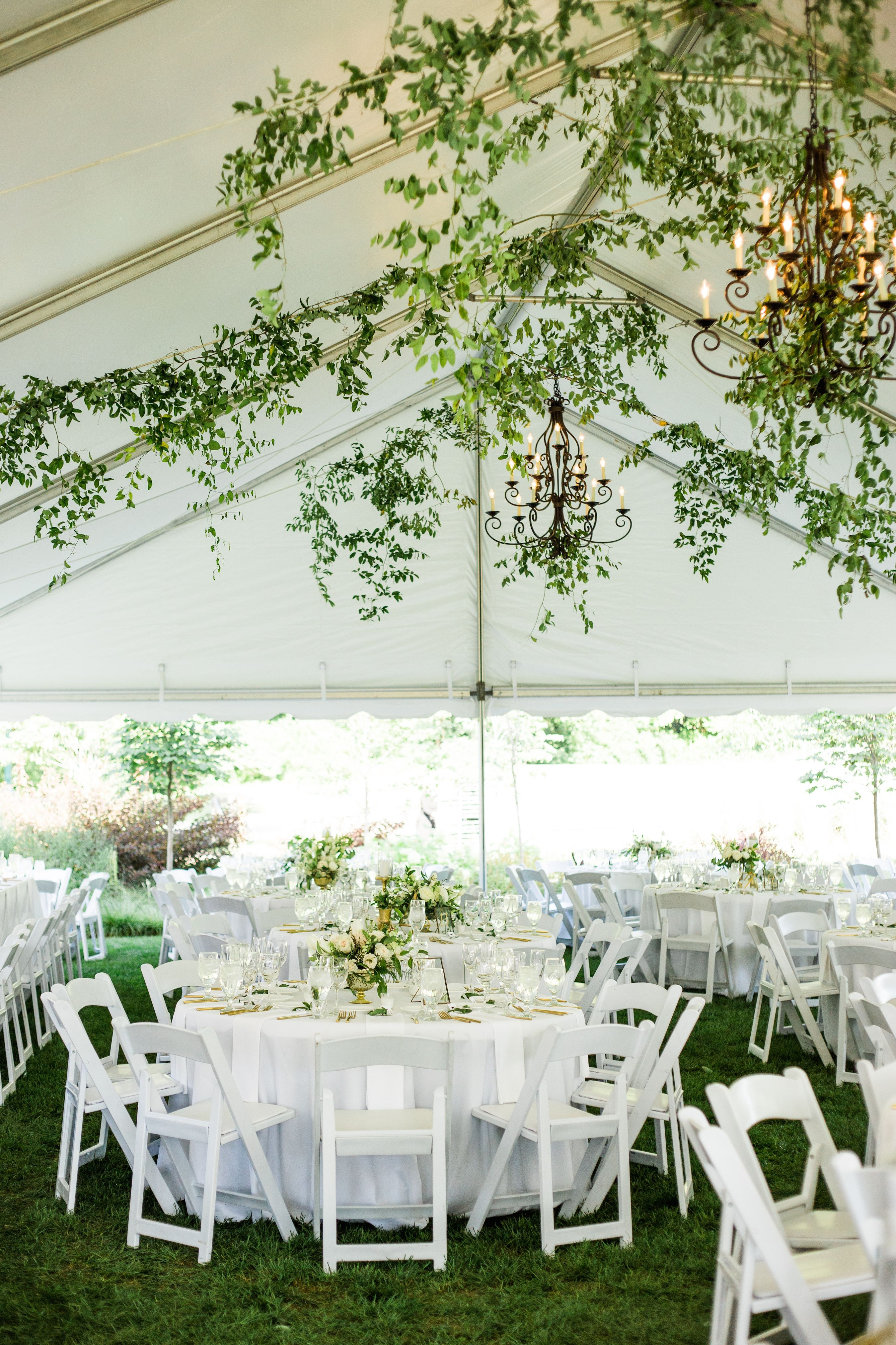 Posy Columbus Ohio Franklin Park Conservatory Adam Lowe Photography Greenery Wedding W White Tent Wedding Wedding Tent Decorations Tent Wedding Reception