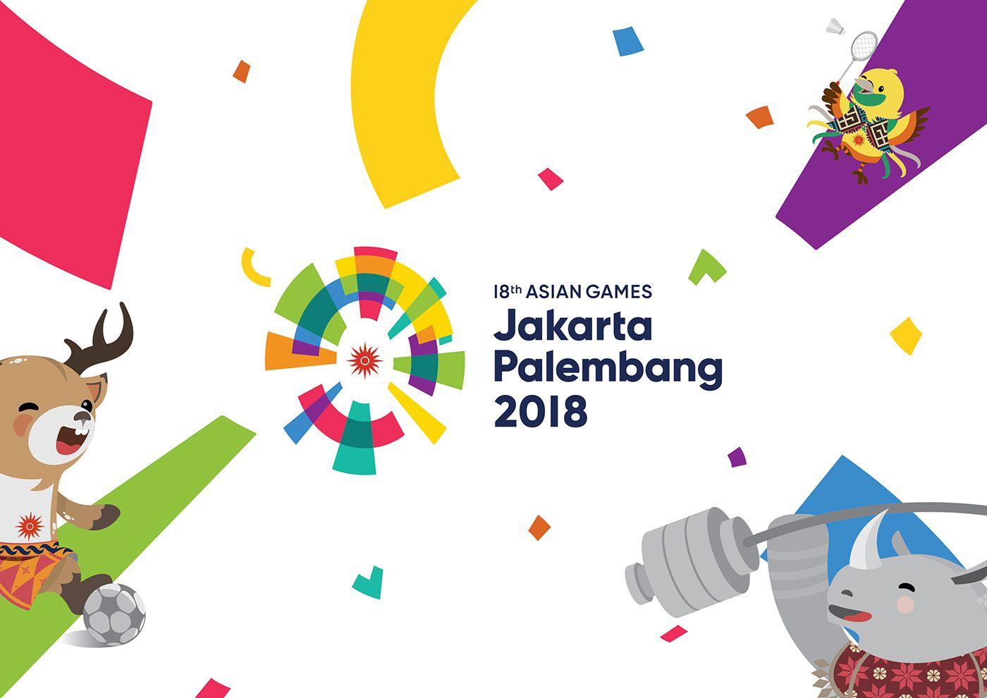 Pin by heikalasona on Icon design | Asian Games, Game 2018, Games