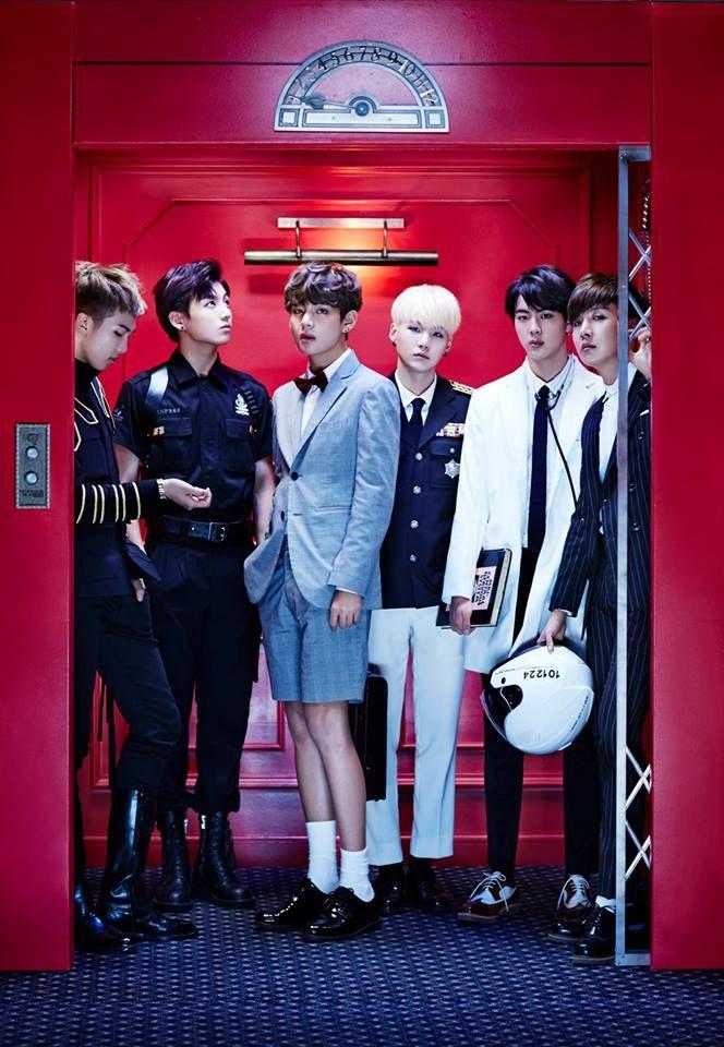 V joins Jungkook, Jin, J-Hope, Rap Monster and Suga in the elevator for 'Sick' teaser images