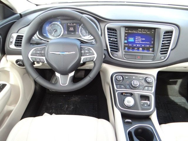 2015 Chrysler 200 With Brown Interior And Touch Screen Chapman