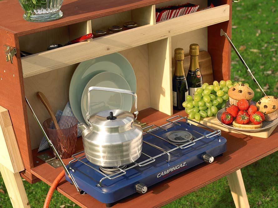 Miniküche Mit Kühlschrank Toom : Camping küche holz toom kreativwerkstatt campingküche