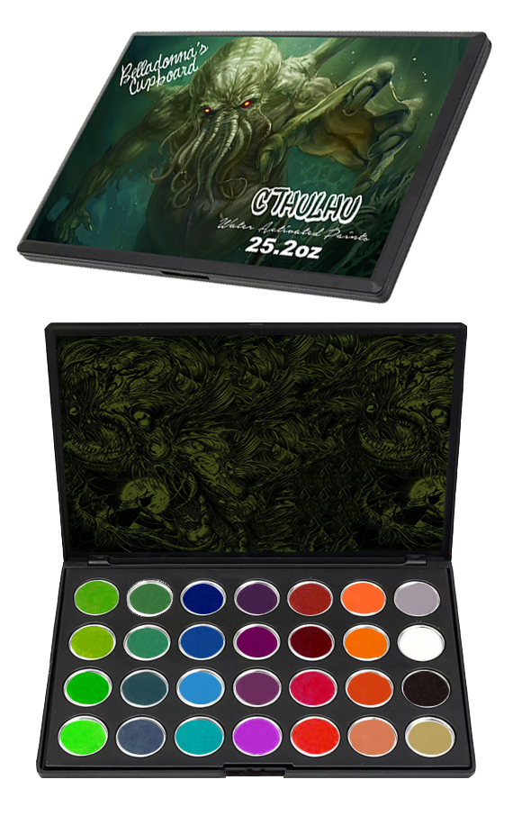 CTHULHU Water Activated Paint Palette (PREORDER) Paint