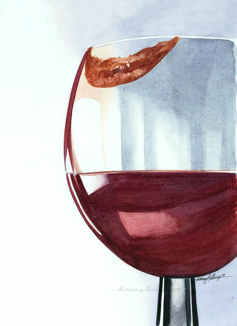 Guest Artist Fueled By Fascination By Anthony Billings Doodlewash Wine Art Wine Print Wine