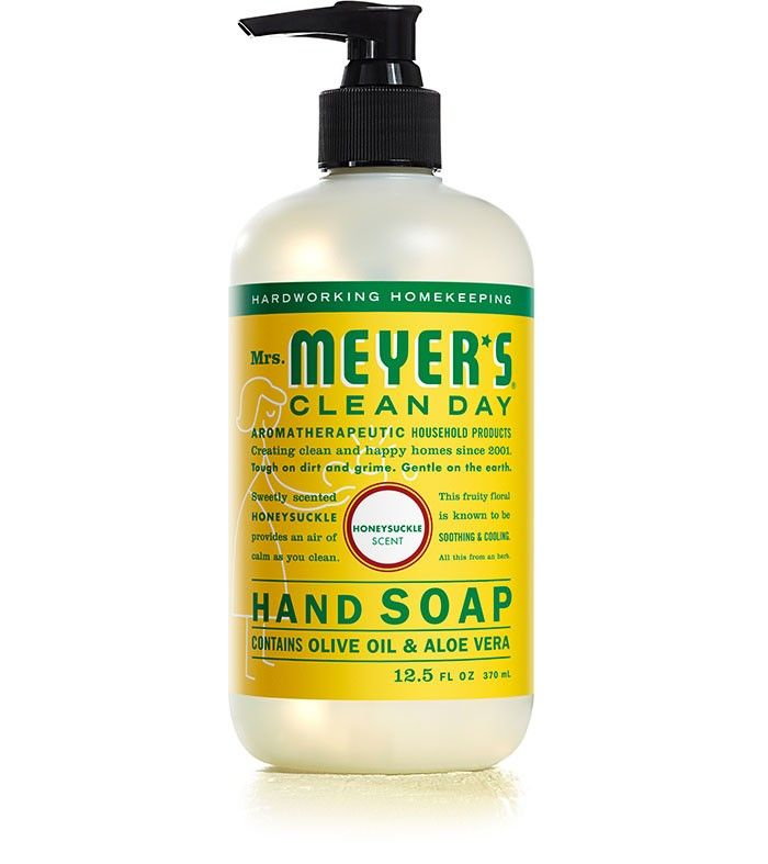 Mrs Meyer S Honeysuckle Hand Soap And The Basil Too