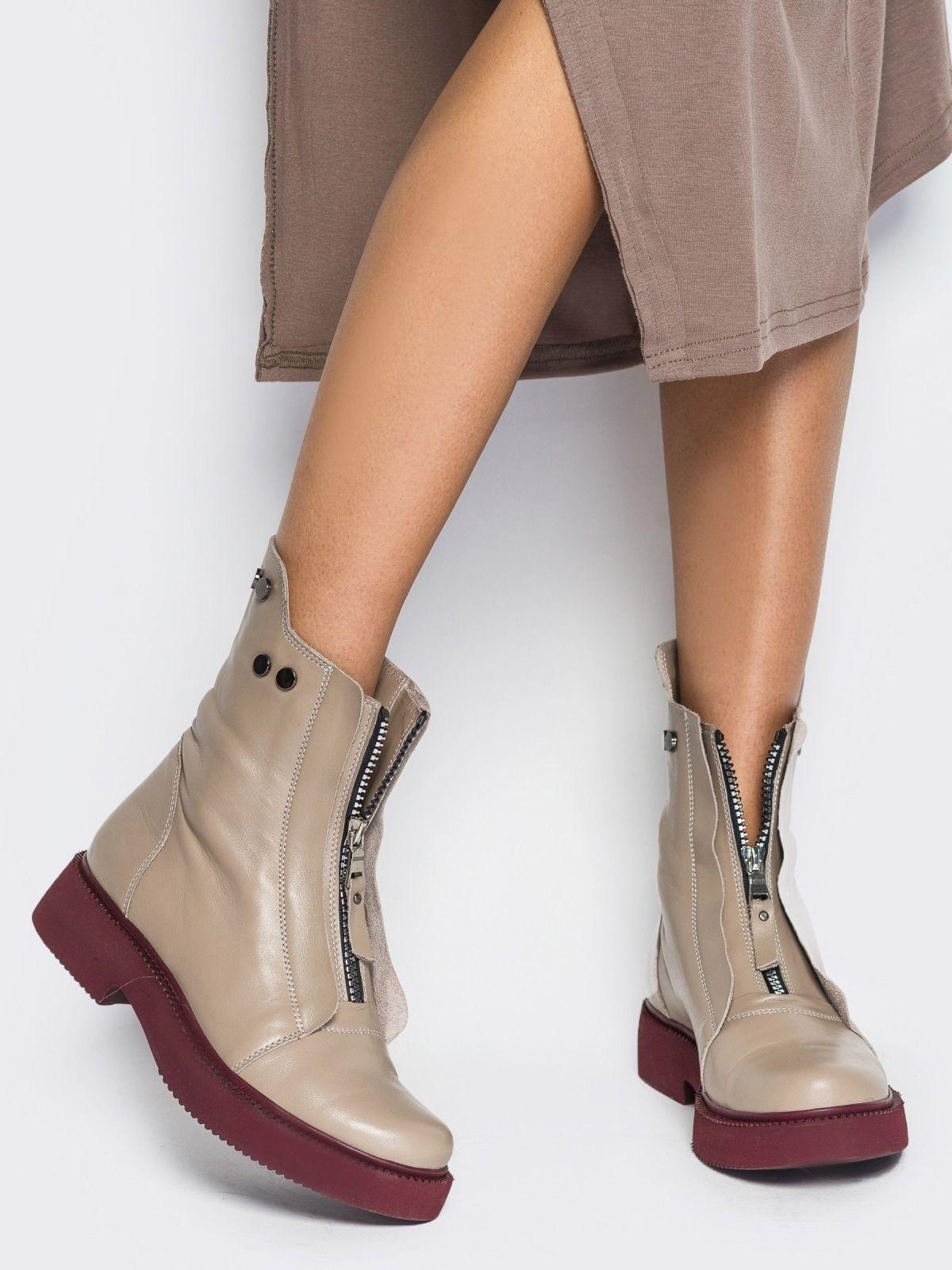 0163ec437 100 стильных трендов: Модные женские ботинки 2019, новинки на фото ...