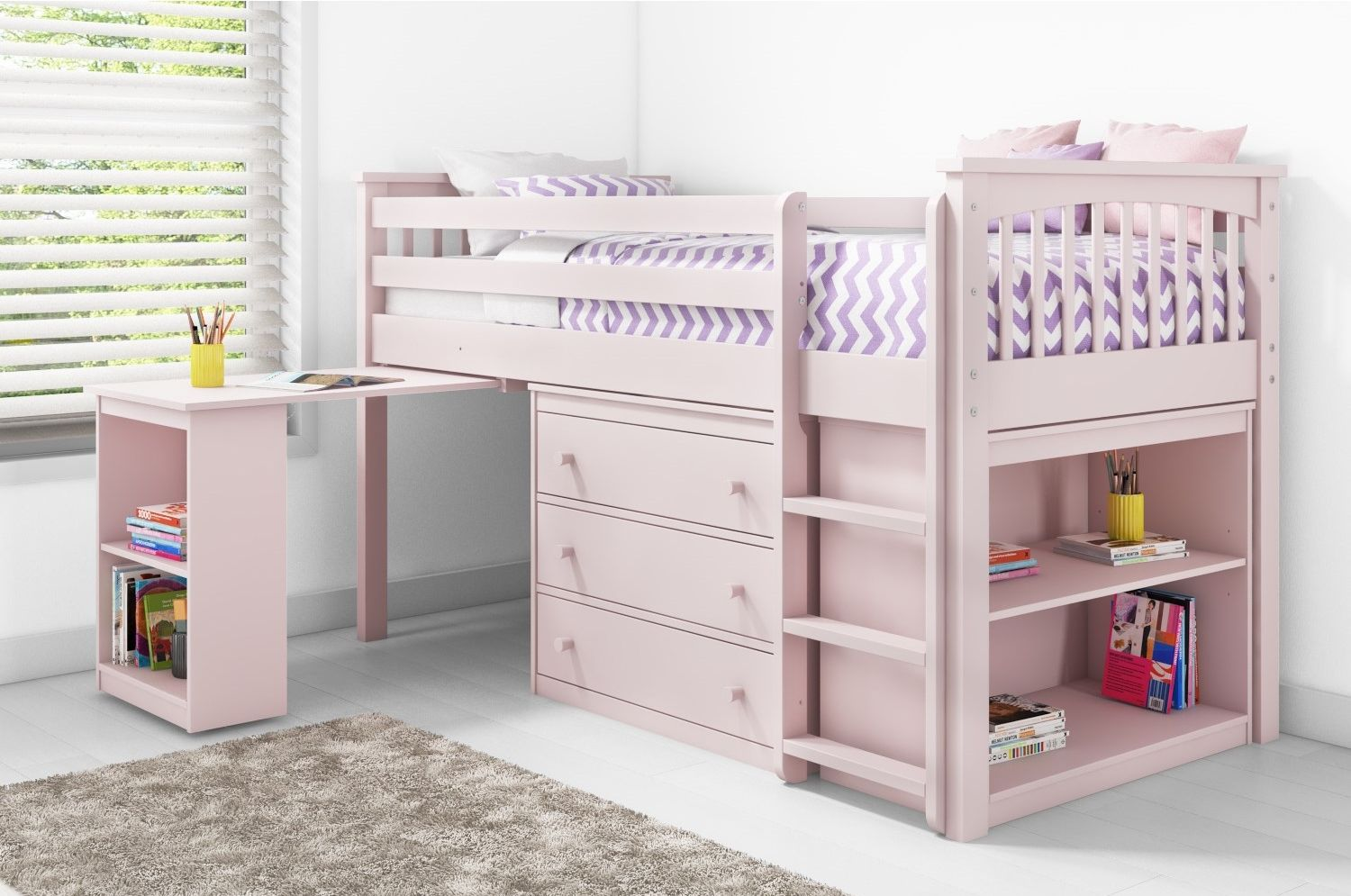 Tuffing loft bed ideas  Classic and compact  WINDERMERE mid sleepers are perfect for any