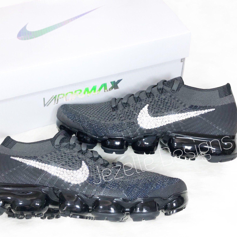 835a6feaae93b Fancy feet! 💎👣👟 Swarovski Crystal adorned Nike Air VaporMax by ...
