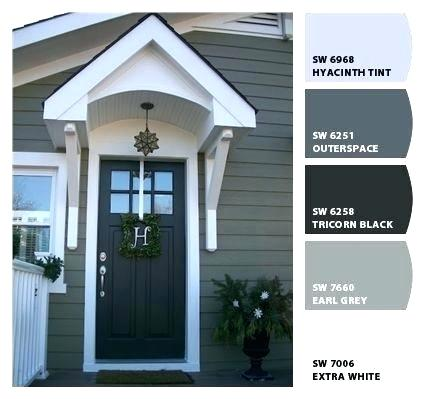 Magnificent Exterior Paint Color Schemes Sherwin Williams Gray Colors Grey House Best Gray House Exterior Exterior Paint Colors For House House Paint Exterior