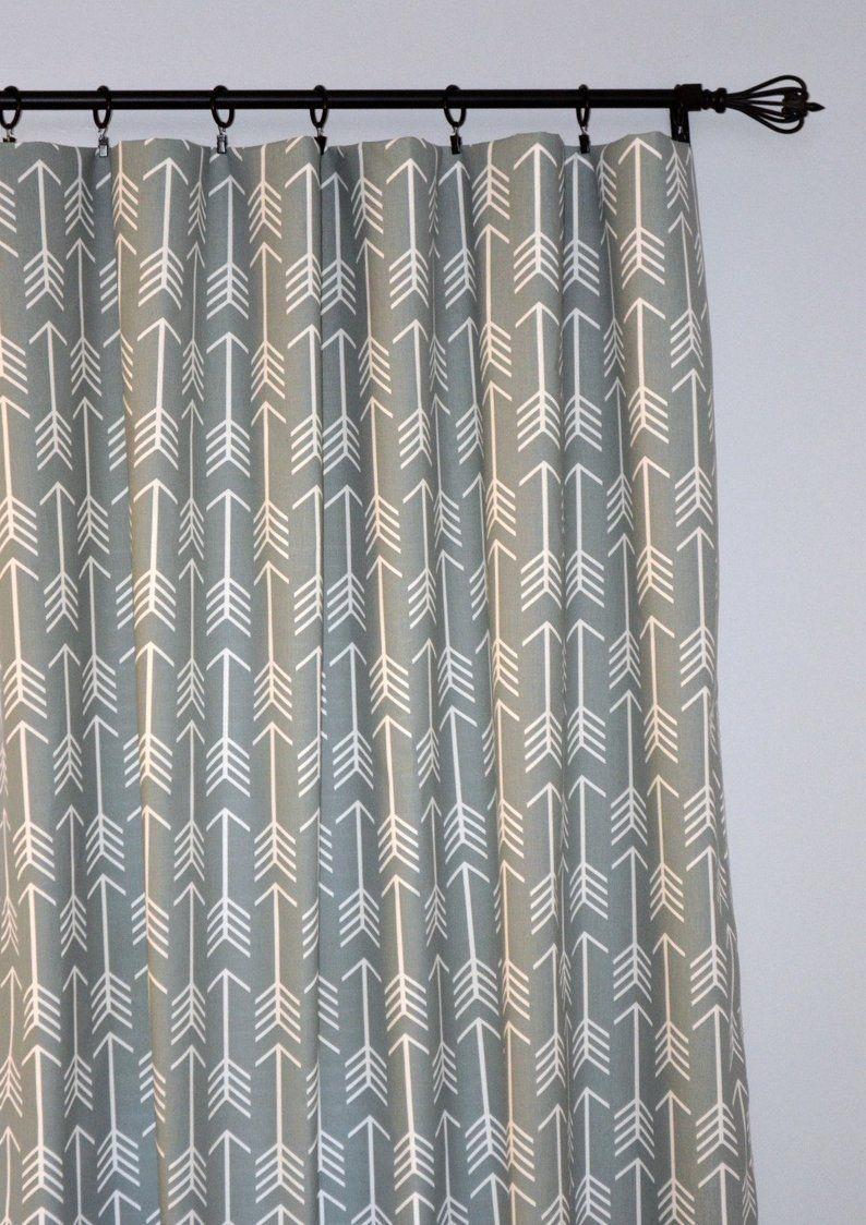Arrow Curtain Rod Panel Curtains Curtains Rod Pocket Curtains