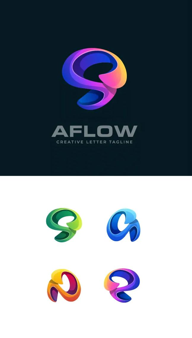 Abstract Color Logo Template Vector Eps Ai In 2020 Logo Templates Design Template Templates