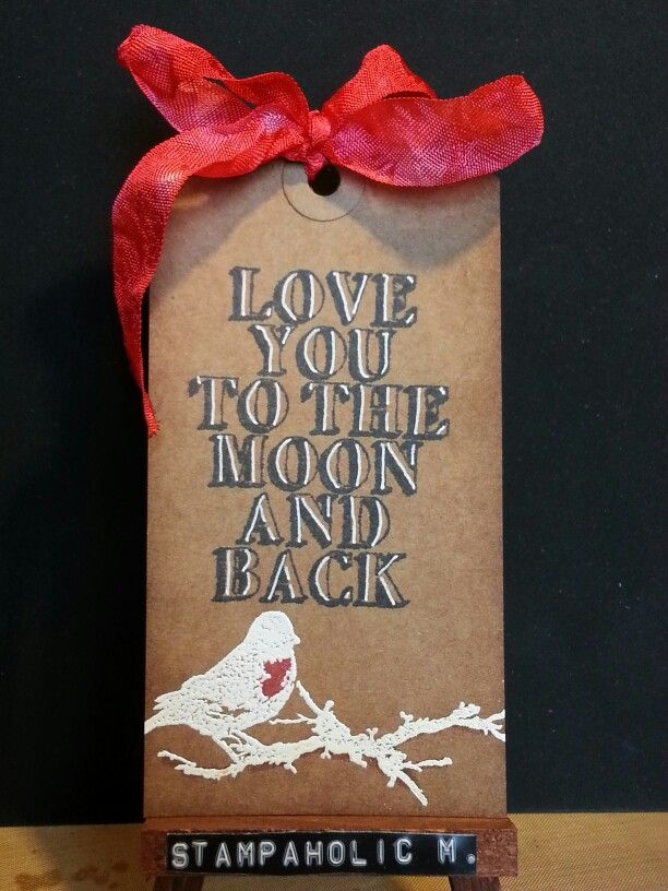 Love you to the moon tag