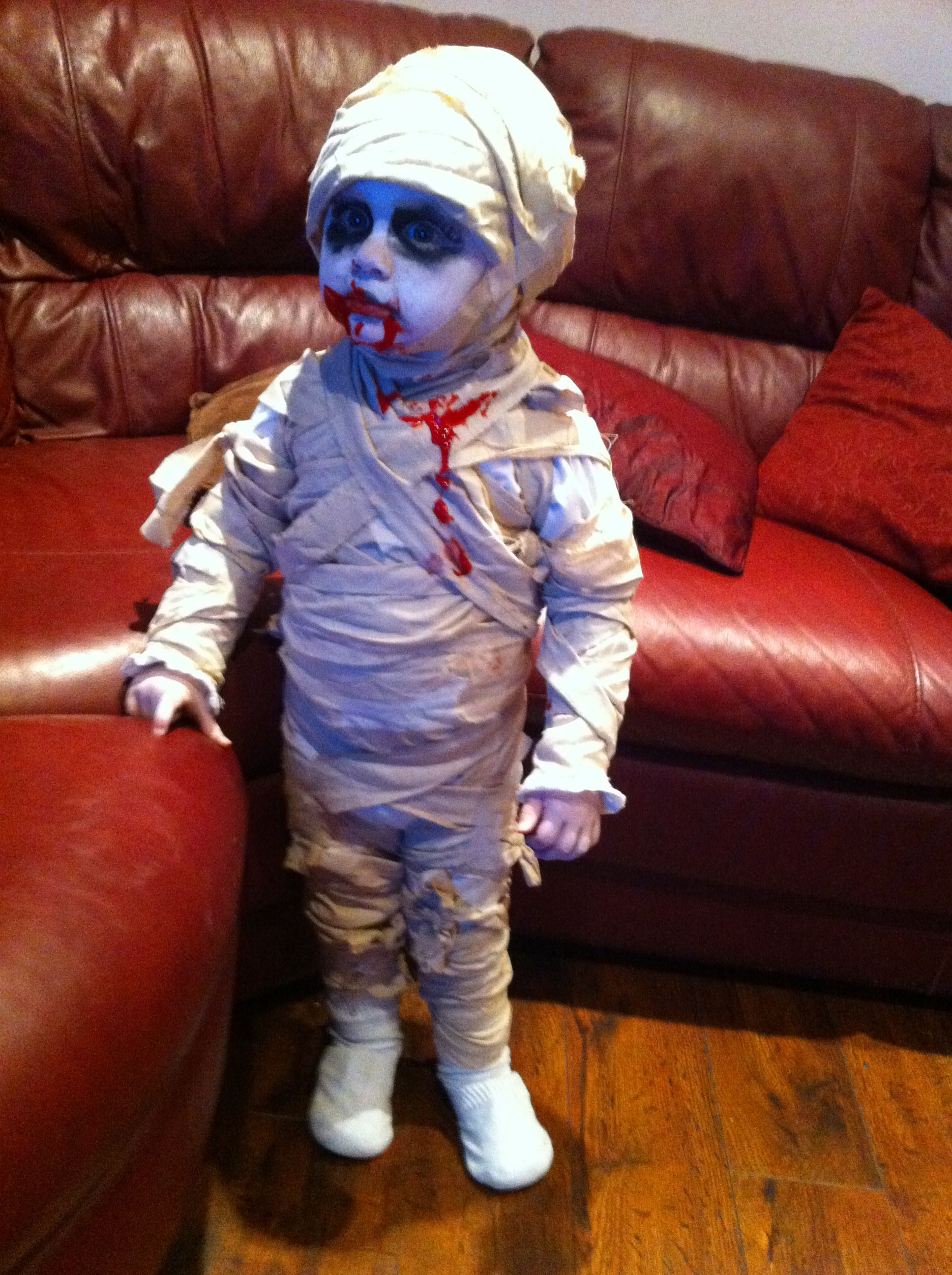 Toddler Halloween fancy dress costume - mummy