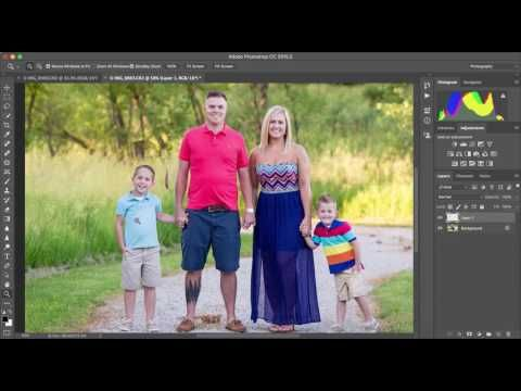 How to do a Head Swap in Photoshop - YouTube