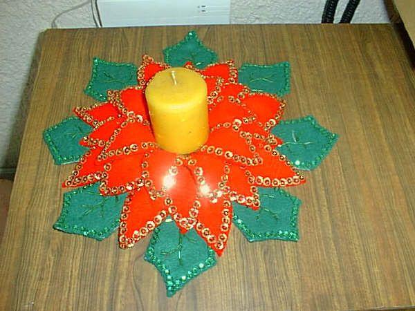 Flores navide as en foami iglesia adventista del 7mo dia - Trabajos manuales navidenos ...