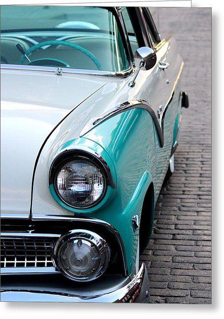 1955 Ford Fairlane by Rosanne Jordan