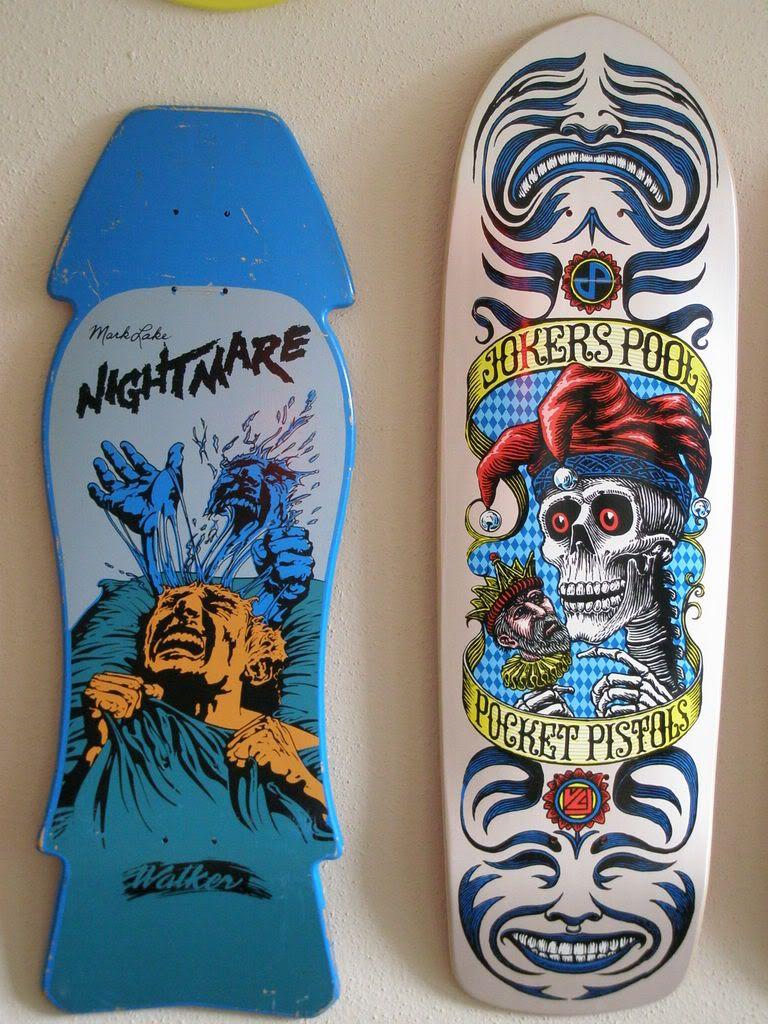 "SkullandBonesSkateboards.com ~ View topic - WALKER Mark Lake ""Nightmare"" NOS"
