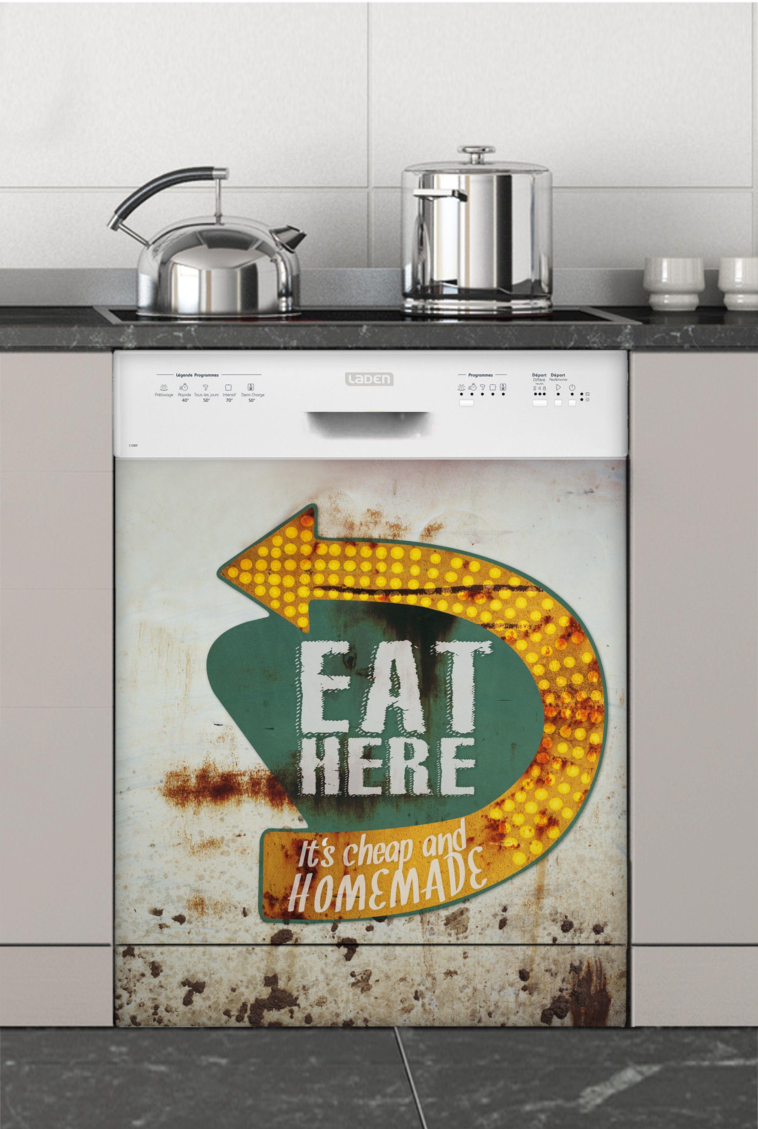 Peinture Pour Lave Vaisselle indus, stickers électroménager lave vaisselle #sticker
