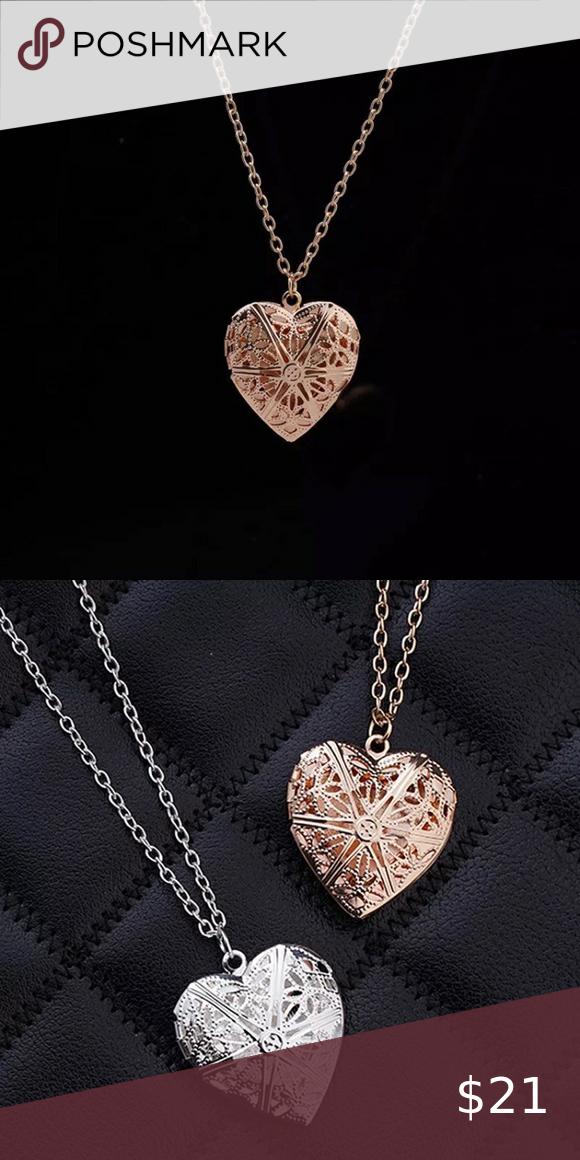 Gold Filled Heart Locket In 2020 Womens Jewelry Necklace Heart Locket Women Jewelry