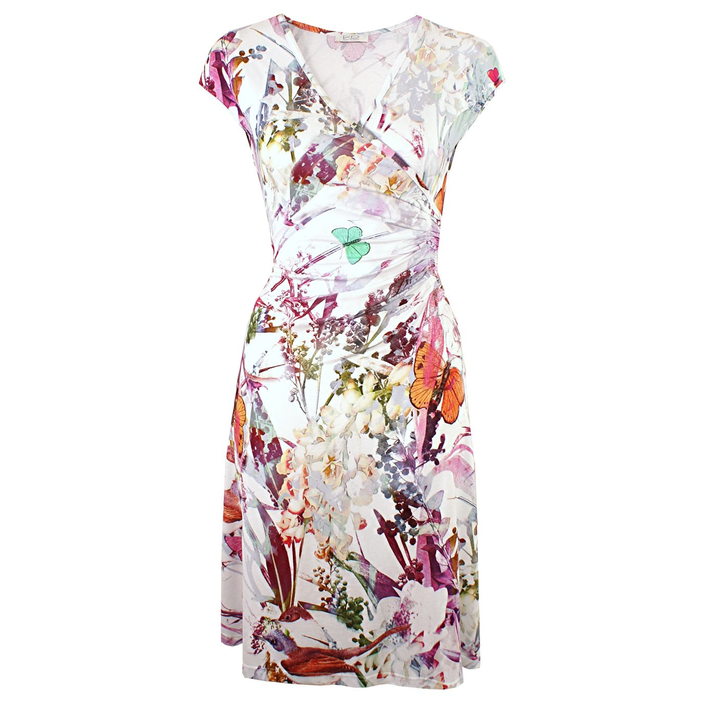 Savis Tropic White Von Kd Klaus Dilkrath Kdklausdilkrath Kd Dilkrath Kd12 Outfit Savis Dress Kleid Tropic White Flower Wickelkleid Kleider Modestil