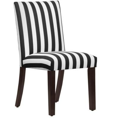 Skyline Furniture Hdc Canopy Stripe Black And White Uptown