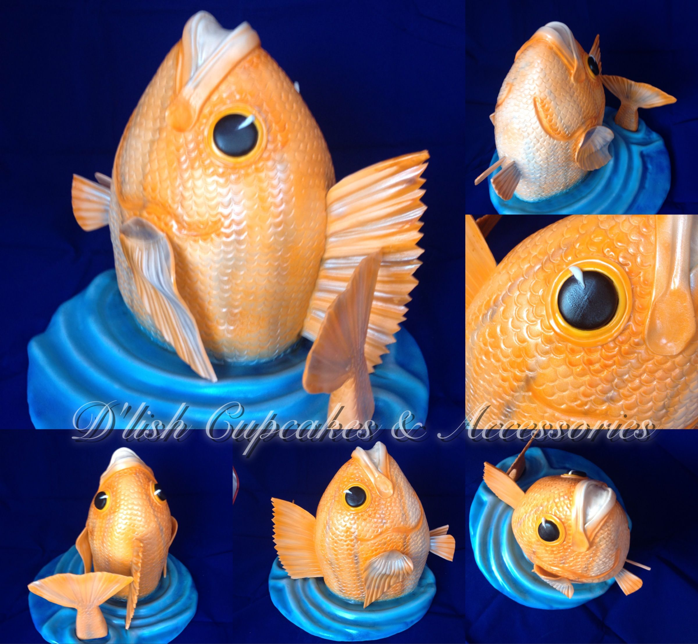 Fish cake Mans birthday cake Cake for a fisherman Cakes