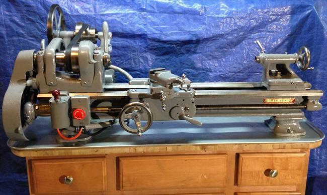 Photo Index - South Bend Lathe Works - Workshop Model 9C