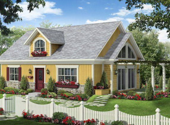 Maison neuve plain pied mod le paysanne house plans for Maison neuve classique
