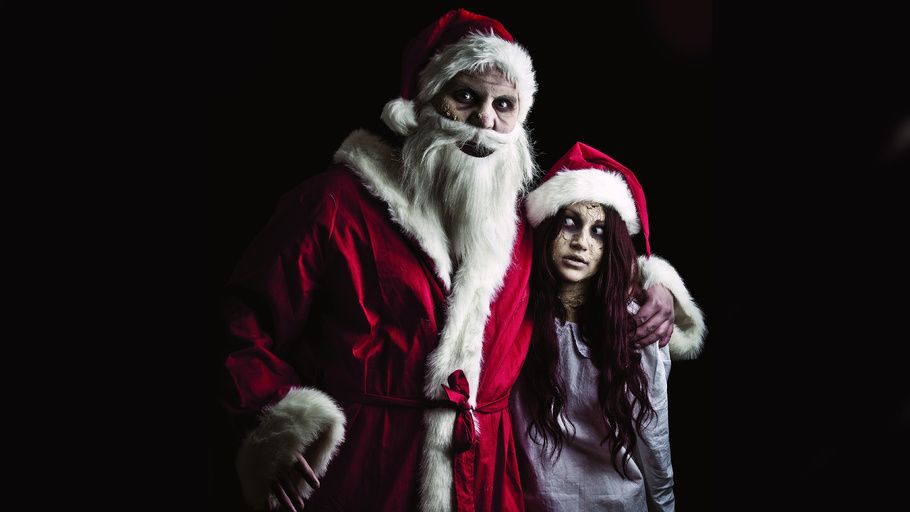 Christmas Zombie Wallpaper.Santa Claus Evil Santa The Snow Maiden Zombie Santa